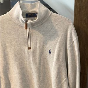 Polo by Ralph Lauren Men's Quarter Zip Sweater